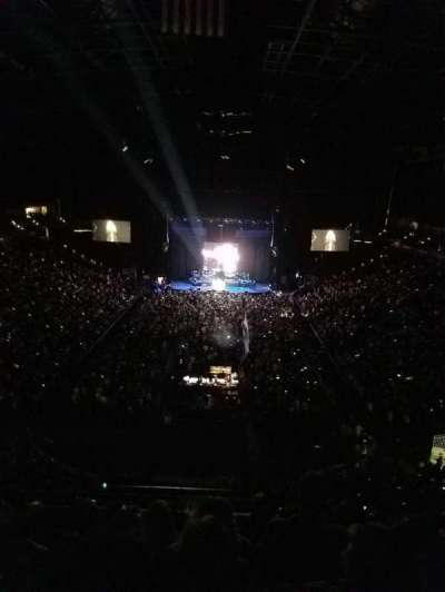 Jacksonville Veterans Memorial Arena, section: 312, row: F, seat: 5