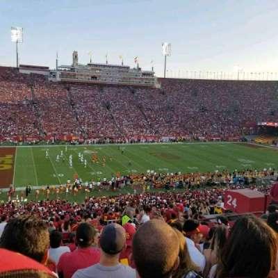 Los Angeles Memorial Coliseum, section: 24L, row: 57, seat: 11