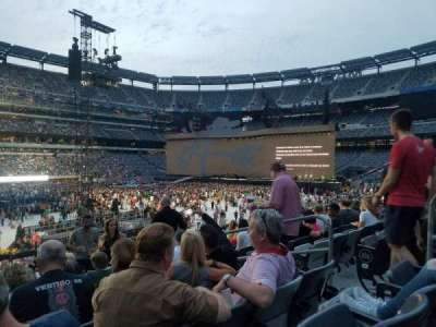MetLife stadium, section: 117, row: 23, seat: 5