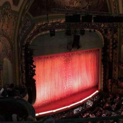 New Amsterdam Theatre, section: Balcony, row: C, seat: 31