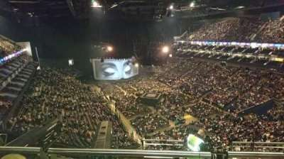 The O2 Arena, section: 409, row: H, seat: 651
