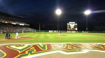 NBT Bank Stadium, section: 105, row: 1, seat: 6