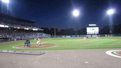 NBT Bank Stadium, section: 105, row: 1, seat: 10