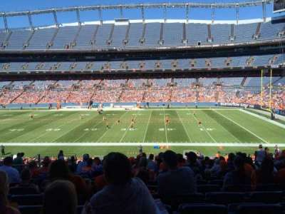 Sports Authority Field at Mile High, section: 121, row: 38, seat: 13
