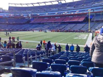 Gillette Stadium, section: 104, row: 15, seat: 24