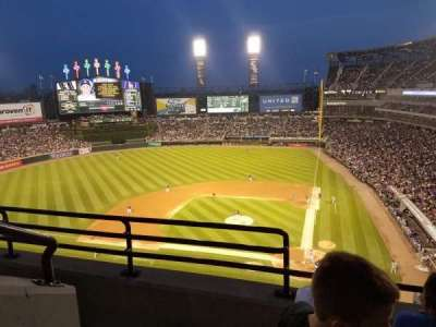 Guaranteed Rate Field, section: 536, row: 3, seat: 10