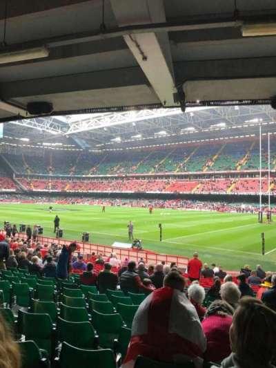 Principality Stadium section L25