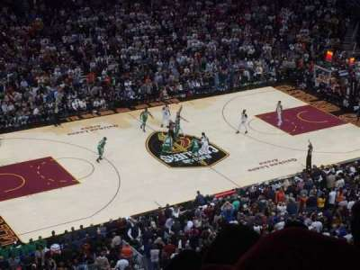 Quicken Loans Arena, section: 223, row: 5, seat: 6