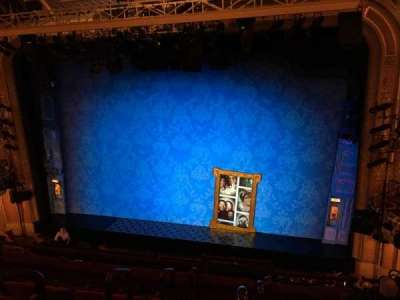 Walter Kerr Theatre, section: Mezzanine Right, row: F, seat: 4
