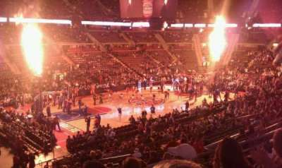 The Palace of Auburn Hills, section: 103, row: n, seat: 13