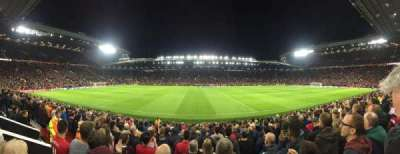 Old Trafford, section: N1406, row: 1, seat: 173
