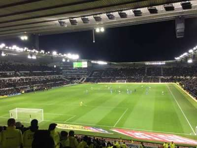 Pride Park, section: D, row: R, seat: 630