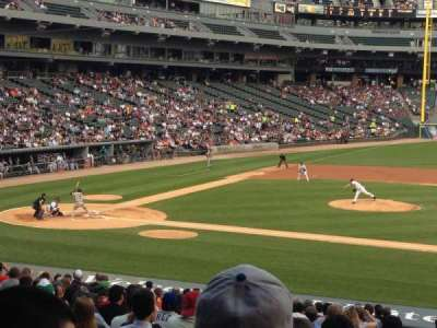 Guaranteed Rate Field, section: 124, row: 29, seat: 6