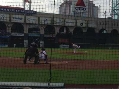 Minute Maid Park, section: D, row: 4, seat: 2