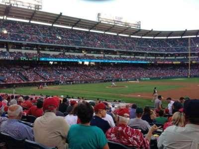 Angel Stadium, section: F126, row: P, seat: 18