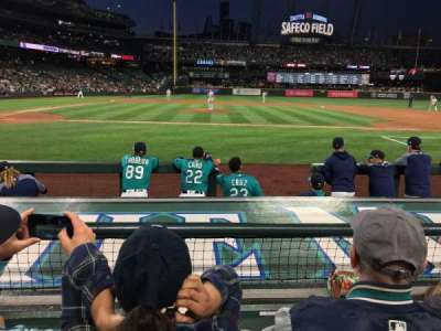Safeco Field, section: 123, row: 7, seat: 9