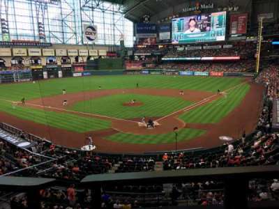 Minute Maid Park, section: 218, row: 1, seat: 8