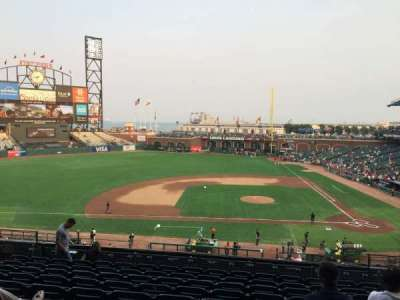 AT&T Park, section: 222, row: J, seat: 7