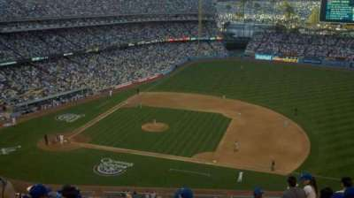 DODGER STADIUM section 22RS