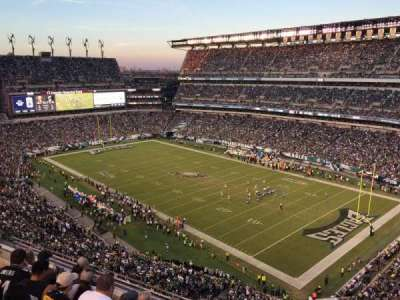 Lincoln Financial Field, section: 207, row: 5, seat: 10