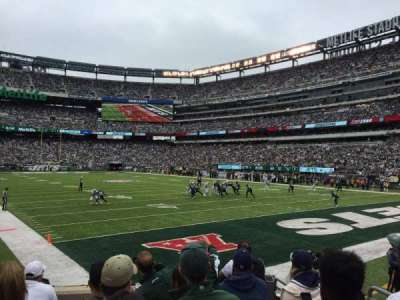 MetLife Stadium, section: 129, row: 8, seat: 16