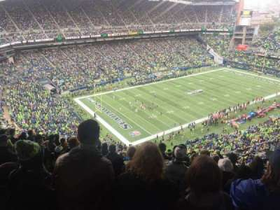 CenturyLink Field, section: 316, row: DD, seat: 18