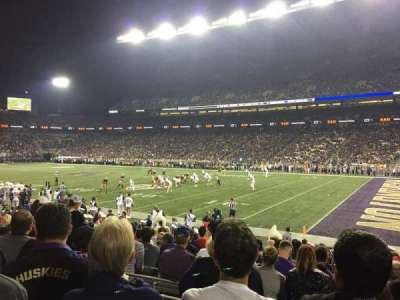 Husky Stadium, section: 102, row: 13, seat: 15