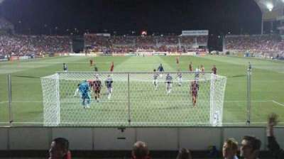 Rio Tinto Stadium, section: 28, row: F, seat: 24 and 25