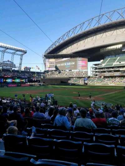 Safeco Field, section: 132, row: 23, seat: 9