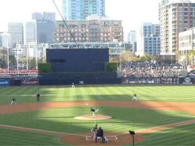 Petco Park, section: F, row: 15, seat: 5