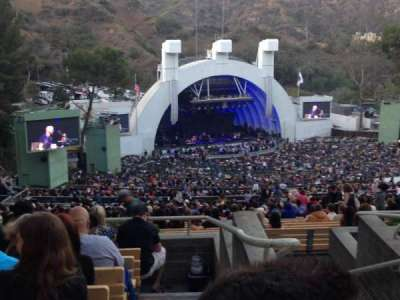 Hollywood Bowl, section: U3, row: 6, seat: 1