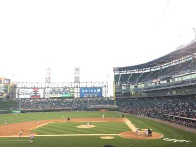 Guaranteed Rate Field, section: 137, row: 29, seat: 3