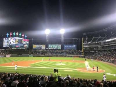 Guaranteed Rate Field, section: 136, row: 22, seat: 8
