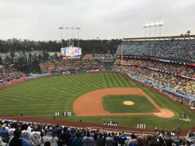DODGER STADIUM section 17RS