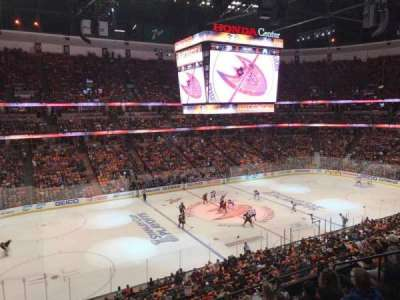 Honda Center, section: 322, row: 1, seat: 2