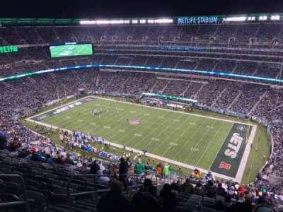 MetLife Stadium, section: 334, row: 26, seat: 25