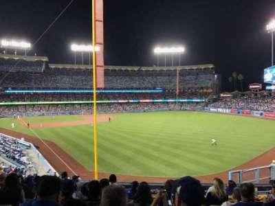 Dodger Stadium, section: 166LG, row: K, seat: 4