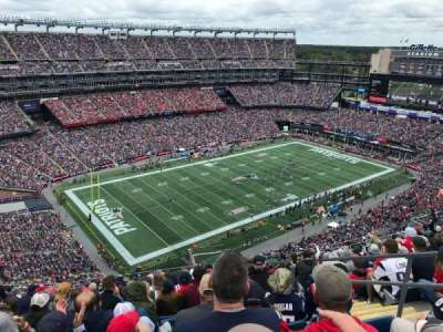Gillette Stadium section 338