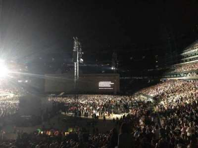 MetLife stadium, section: 124, row: 31, seat: 2