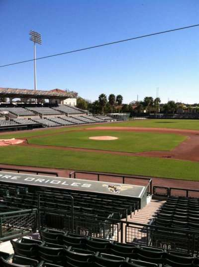 Ed Smith Stadium, section: 207, row: 7, seat: 12