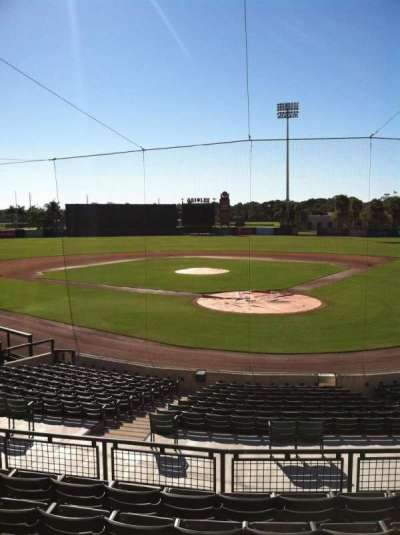 Ed Smith Stadium, section: 214, row: 7, seat: 12