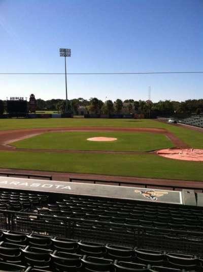 Ed Smith Stadium, section: 216, row: 7, seat: 12