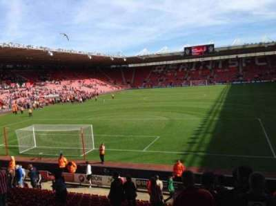 St Mary's Stadium, section: Block 42, row: W, seat: 1009