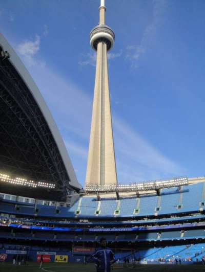 Rogers Centre, section: 129L, row: 1, seat: 103