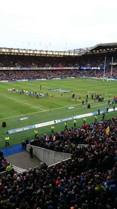 Murrayfield Stadium, section: West 36