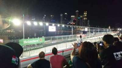 Singapore Street Circuit, section: Bay Grandstand - Dark Green, row: 13, seat: 13