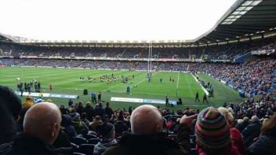 Murrayfield Stadium, section: West 5