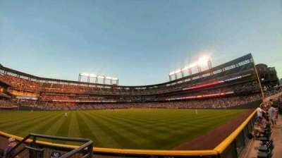 Coors Field, section: 158, row: 2, seat: 3