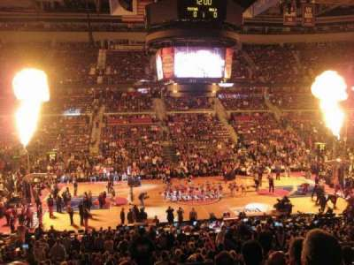 The Palace of Auburn Hills, section: 114, row: P, seat: 10