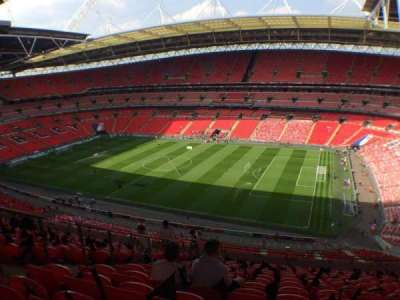 Wembley Stadium section 523